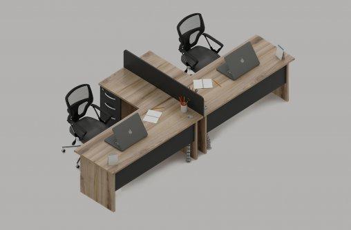 Bursa 2li Ofis Masası Ebatları