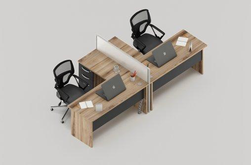 Bursa 2li Ofis Masası