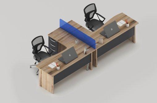 Bursa 2li Çalışma Masası Ebatları