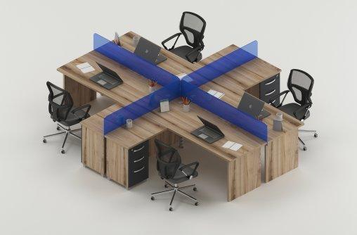 4lü Çalışma Masası Grubu