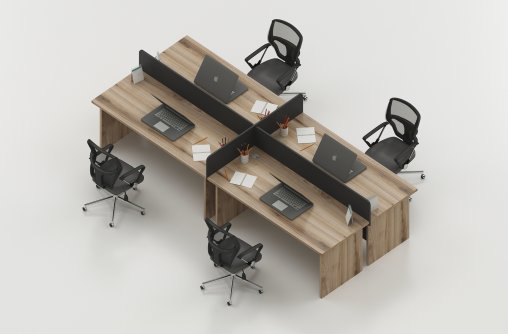 4lü Çalışma Masası