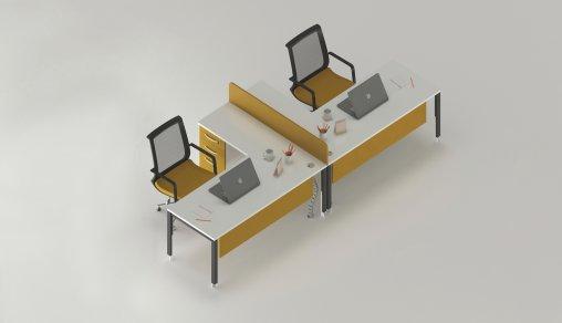 Bursa 2li Ofis Masası Satış