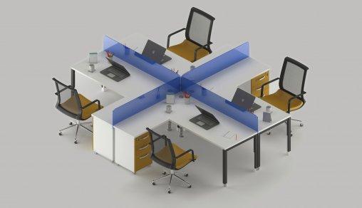 Masa Modeli Dörtlü