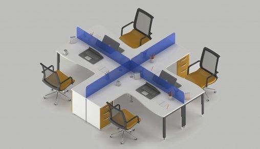 Dörtlü Masa Modeli Örnekleri