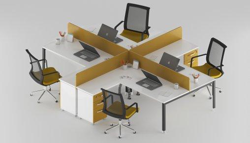 Dörtlü Masaların Model Örnekleri