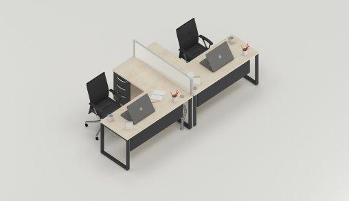 Bursa 2li Ofis Masaları