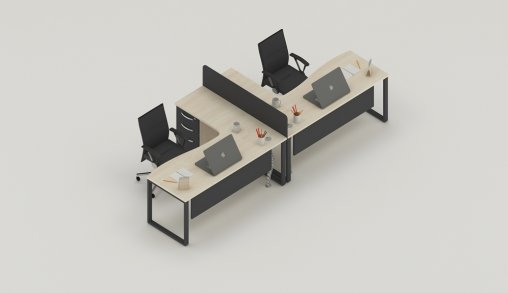 Bursa 2li Ofis Masası Ölçüleri