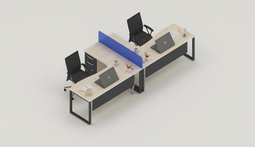 Bursa 2li Ofis Masaları Ebatları