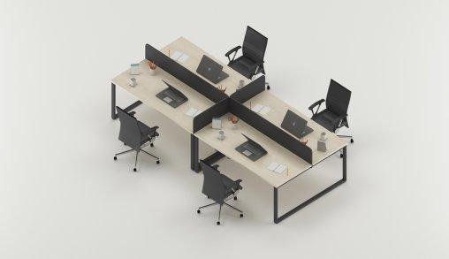 Bursa 4lü Ofis Masası Nasıldır