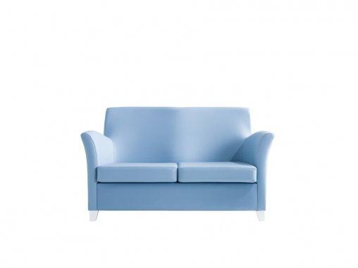 İkili Mavi Kanepe